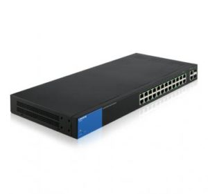 LINKSYS LGS326P 24x Gigabit PoE+ 2x SFP Combo Port s Smart Sw